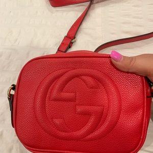 Gucci over shoulder handbag, purse, bag